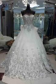 wedding dress with bling wedding dress with rhinestones