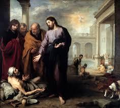 Blind Man At Bethsaida The Story Of Jesus Christ Healing A Man Born Blind