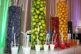 Fruit Vase Filler Vase Fillers At A Smoothie Bar Party Ideas Pinterest
