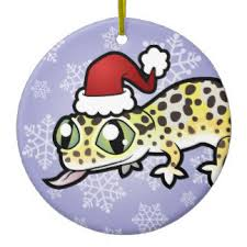 leopard gecko ornaments keepsake ornaments zazzle