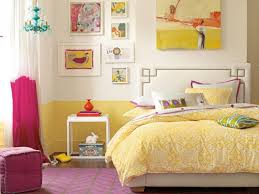 Yellow And Blue Decor Bedroom Adjustable Teen Girls Bedroom Ideas With Yellow Bedding