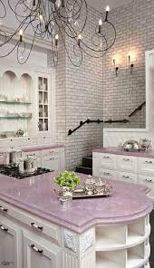 Pastel Kitchen Ideas Lavender Purple Quartz Counters By Caesarstone This Look