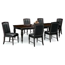 furniture ideas 21 black formal dining room black walls with white