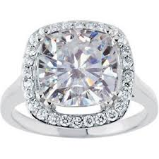 5 carat engagement ring forever brilliant antique designer cushion moissanite diamond