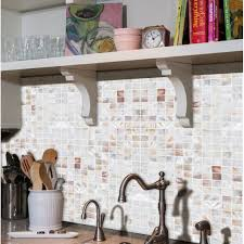 shell tiles natural mother of pearl tile white kitchen backsplash