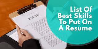 Military Skills To Put On A Resume Resumeok Resume Samples Objectives And Resume Writing Tips