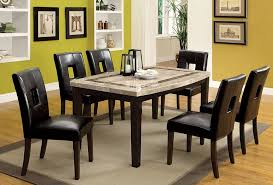 marble top dining table set lisbon marble top dining table set homes alternative 64031