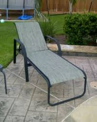 Patio Chair Repair Mesh Replacement Sling Cover For Patio Furniture Make Your Own Http