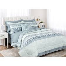 Bed And Bath Bath Accessories Shopko by Bed Mix Dione 8 Piece Reversible Comforter Set Shopko