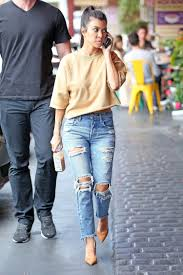 kourtney kardashian wears moussy jeans the jeans blog