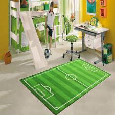 Football Field Rug For Kids Football Rugs U0026 Carpets For Children Ebay
