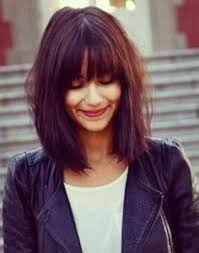 front fringe hairstyles 20 flattering hairstyles for oval faces long bob bobs and hair