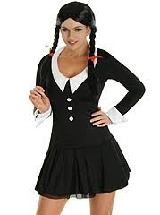 wednesday costume image the family wednesday fancy dress costume 42234440