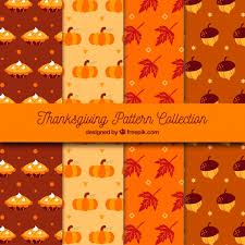 thanksgiving vintage patterns vector free