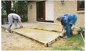 treppe betonieren bodenplatte selbst de