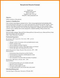 examples of receptionist resumes 3 resume examples for receptionist forklift resume resume examples for receptionist 11 jpg