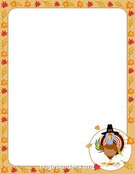 thanksgiving clip page border thanksgiving blessings
