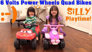 frozen power wheels sleigh power wheels quad bikes 6 volts disney princess and lightning