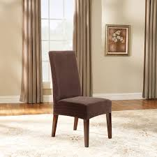 amazing sure fit stretch pique short dining room chair slipcover
