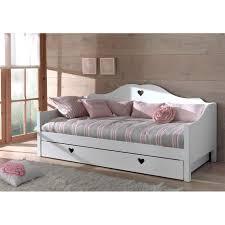 canapé avec lit tiroir lit tiroire cheap lit places effet bois vieilli avec tte de lit