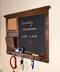 key holder wall mesmerizing chalkboard key holder design that created with three