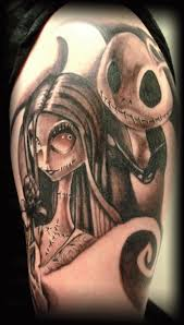 27 best nightmare before christmas his and hers tattoos images on