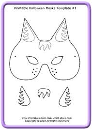 photos halloween mask templates halloween mask templates