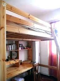 lit superpos bureau mezzanine deux personnes lit mezzanine 2 places avec bureau lit