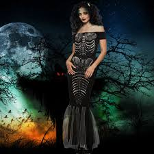 Halloween Costumes Skeleton Woman Compare Prices On Halloween Costumes Skeleton Woman Online
