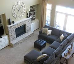 Living Rooms With Gray Sofas 64 Types Flamboyant Living Room Furniture Modern Gray Suede Fabric