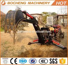 towable mini excavator backhoe attachment compact tractor buy