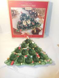 christmas deviled egg plate spode christmas tree deviled egg tray plate 11 5 1400735 ebay