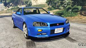 nissan skyline us equivalent nissan skyline r34 gt r 2002 fast and furious for gta 5
