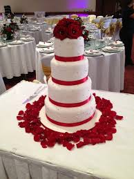 red and white wedding cake ideas ideal weddings