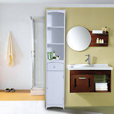 Bathroom Tall Cabinet by Tall Bathroom Cabinet Ebay