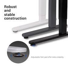 Adjustable Height Desk Frame by Standing Desk Frames Flexispot