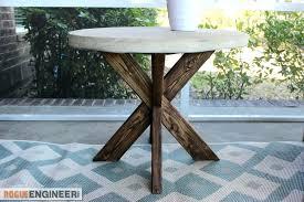 concrete top outdoor table concrete top garden table amazing custom concrete round dining table