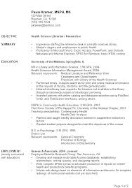 librarian resume objective statement 505