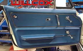 1979 corvette door panels 1965 1967 corvette door panel installed production willcox