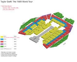 Sydney Entertainment Centre Floor Plan Taylor Swift The 1989 World Tour Singapore Sports Hub