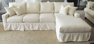 Slipcover For Sleeper Sofa Slipcover Sectional Sofa With Chaise Slipcovers For Sofas 5876