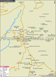 Bhopal India Map by Dharamshala City Map
