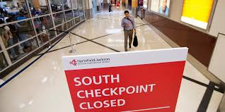 atlanta airport gradually re opens checkpoint after upgrade 90 1