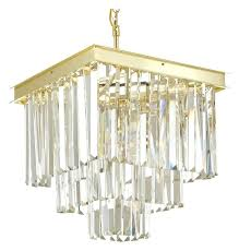odeon chandeliers retro crystal glass fringe 3 tier chandelier gold home improvement s