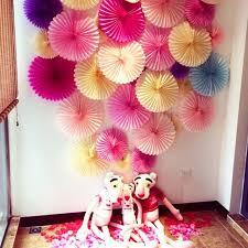aliexpress com buy decorative crafts 30cm 10pcs flower origami