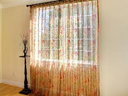 curtains floral sheer curtains designs waterlilly scroll floral