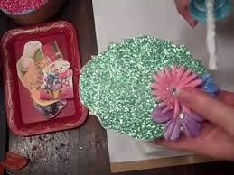 paper mache easter baskets glitter easter baskets using paper mache boxes twisted papers