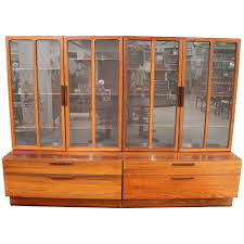 rosewood china cabinet for sale brazilian rosewood reolsystem cabinet by ib kofod larsen for faarup