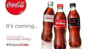 Images Of Coke Coca Cola Boosting U0027share A Coke U0027 Campaign In U S Atlanta