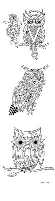 16 Best Owl Adult Coloring Pages Images On Pinterest Coloring Books For Coloring